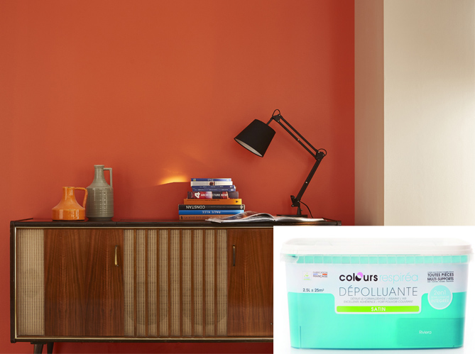 La premi re peinture d polluante est arriv e elle d coration for Quelle couleur associer a l orange