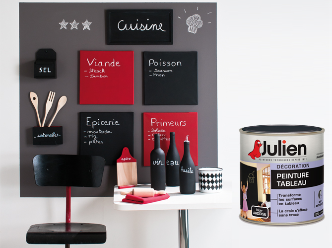 peinture tableau julien elle d coration. Black Bedroom Furniture Sets. Home Design Ideas