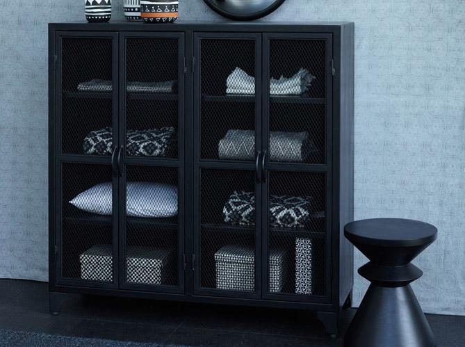 quand les rangements deviennent d co elle d coration. Black Bedroom Furniture Sets. Home Design Ideas