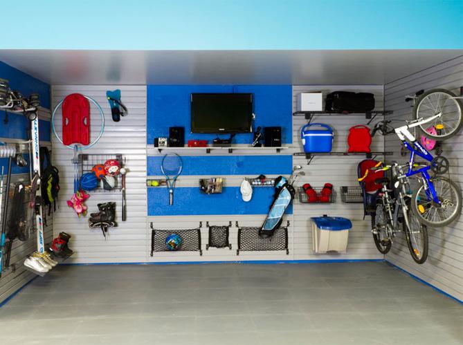 nos id es de rangements pour le garage elle d coration. Black Bedroom Furniture Sets. Home Design Ideas