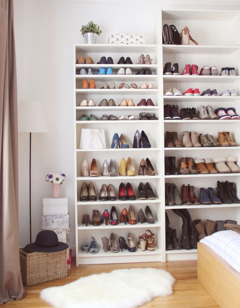 range chaussures 15 astuces de rangements de chaussures qui changent elle d coration. Black Bedroom Furniture Sets. Home Design Ideas