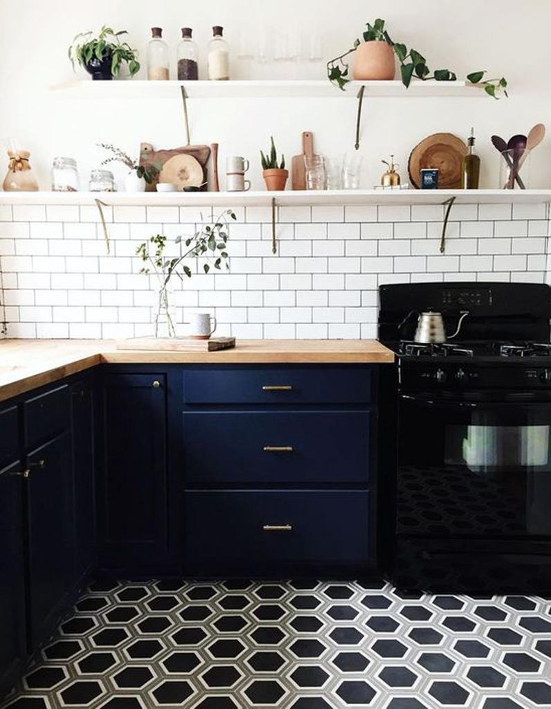 carreaux de ciment 20 inspirations qui vont vous faire craquer elle d coration. Black Bedroom Furniture Sets. Home Design Ideas