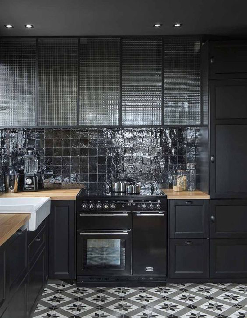 Carreaux de ciment 20 inspirations qui vont vous faire for La cuisine