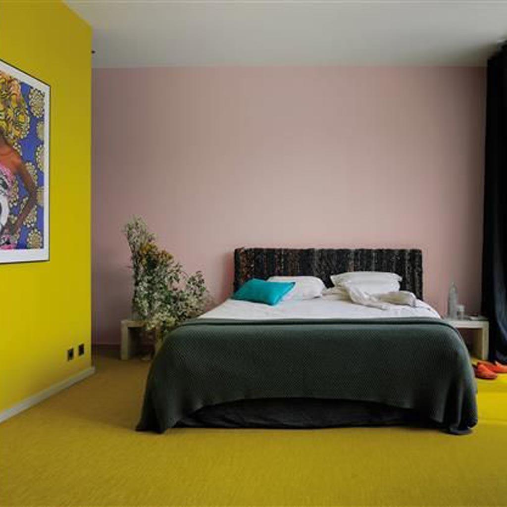 De la couleur au sol elle d coration - Decoller la moquette au sol ...
