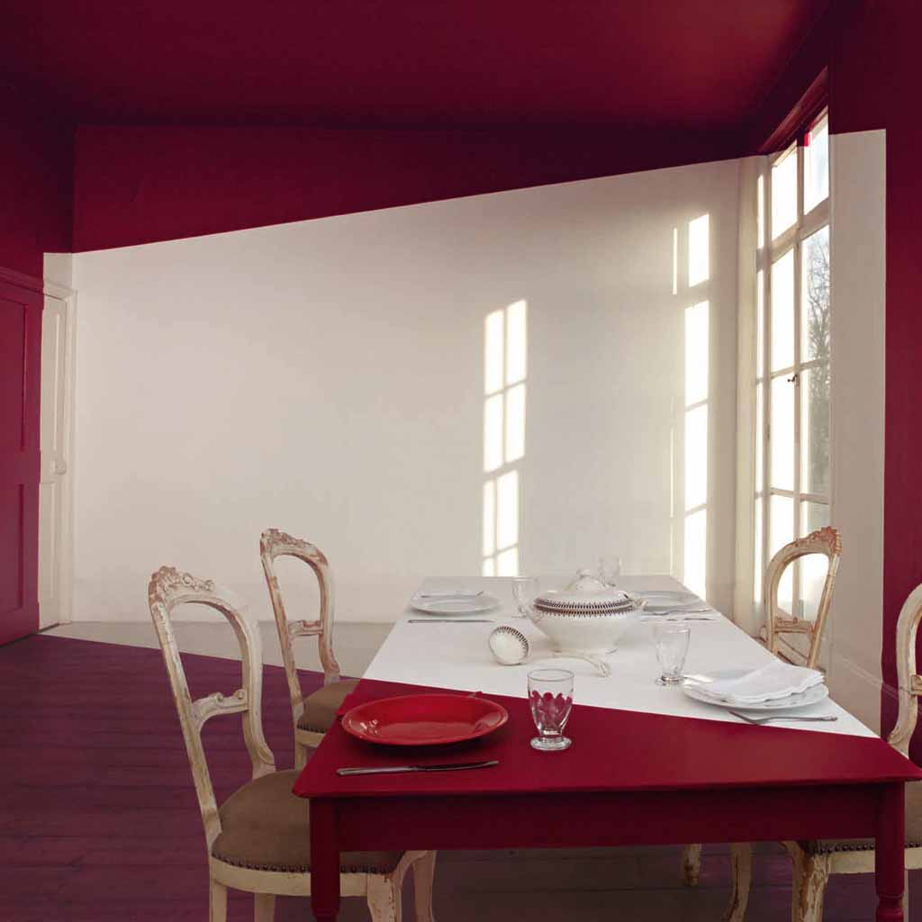 Decoration cuisine couleur framboise for Deco cuisine framboise
