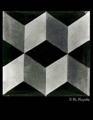 Je veux des carreaux black white elle d coration for Carrelage emery