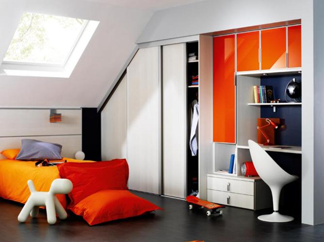 toutes nos id es pour am nager les combles elle d coration. Black Bedroom Furniture Sets. Home Design Ideas