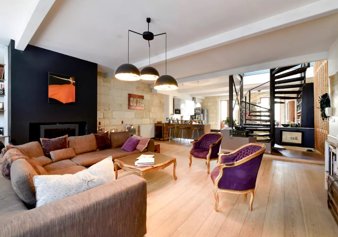 Airbnb bordeaux 30 villas lofts et appartements de r ve - Maison de ville bordeaux ...