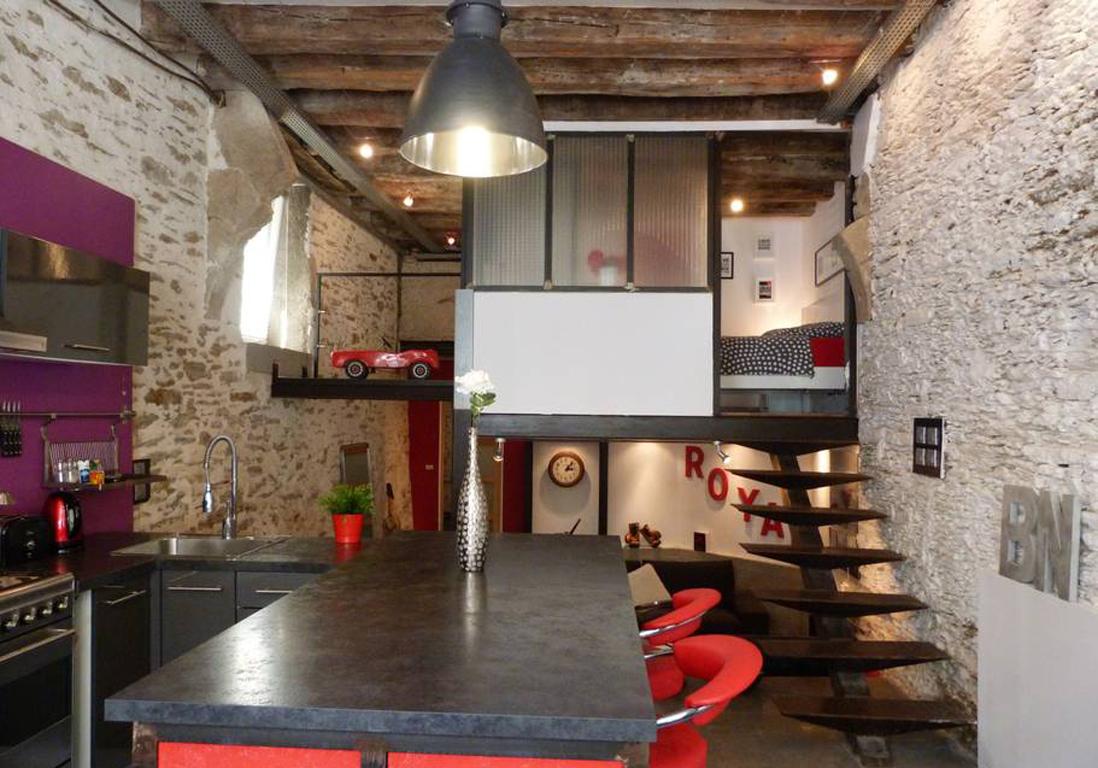 Airbnb nantes 20 appartements maisons et lofts de r ve nantes elle d coration - Airbnb piscine interieure ...