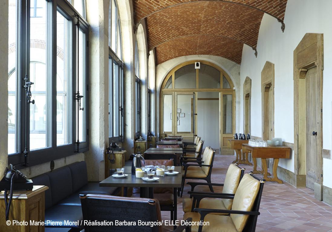Le couvent de la visitation lyon transform en fourvi re for Design boutique hotel lyon