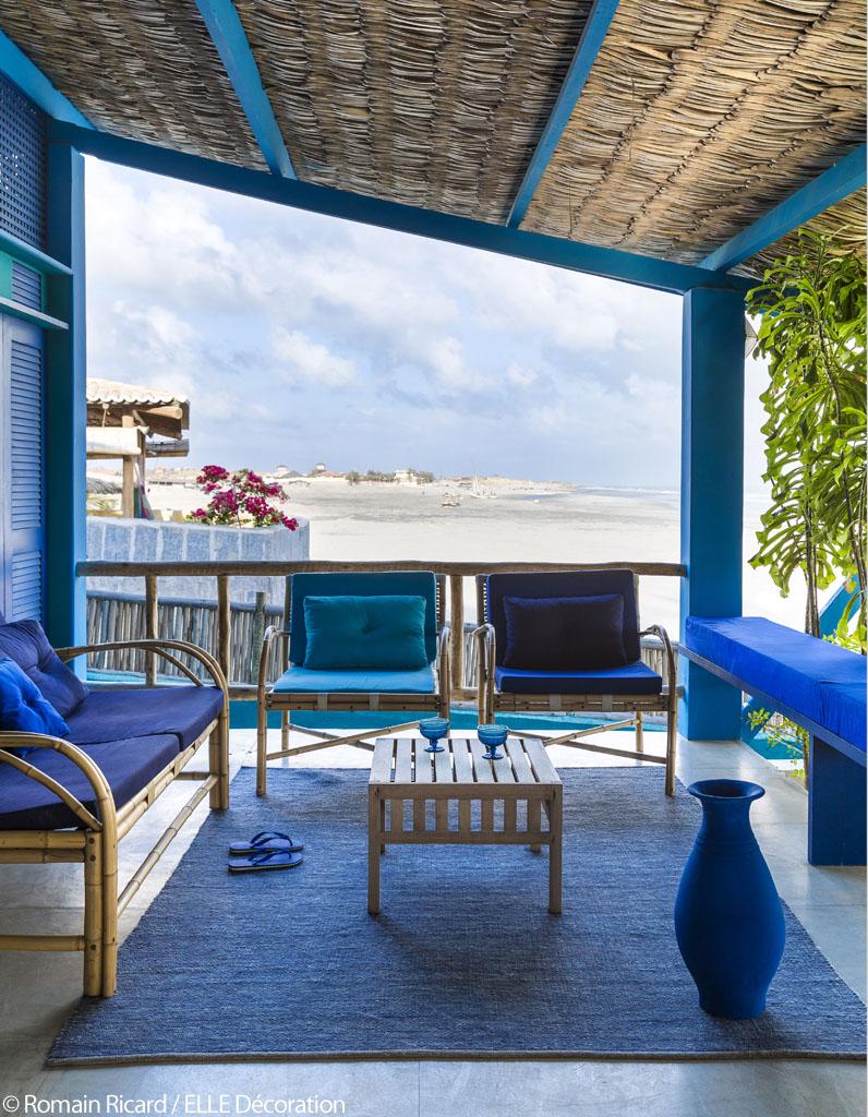 le petit h tel de r ve imagin par stella cadente du bleu du bleu et encore du bleu elle. Black Bedroom Furniture Sets. Home Design Ideas