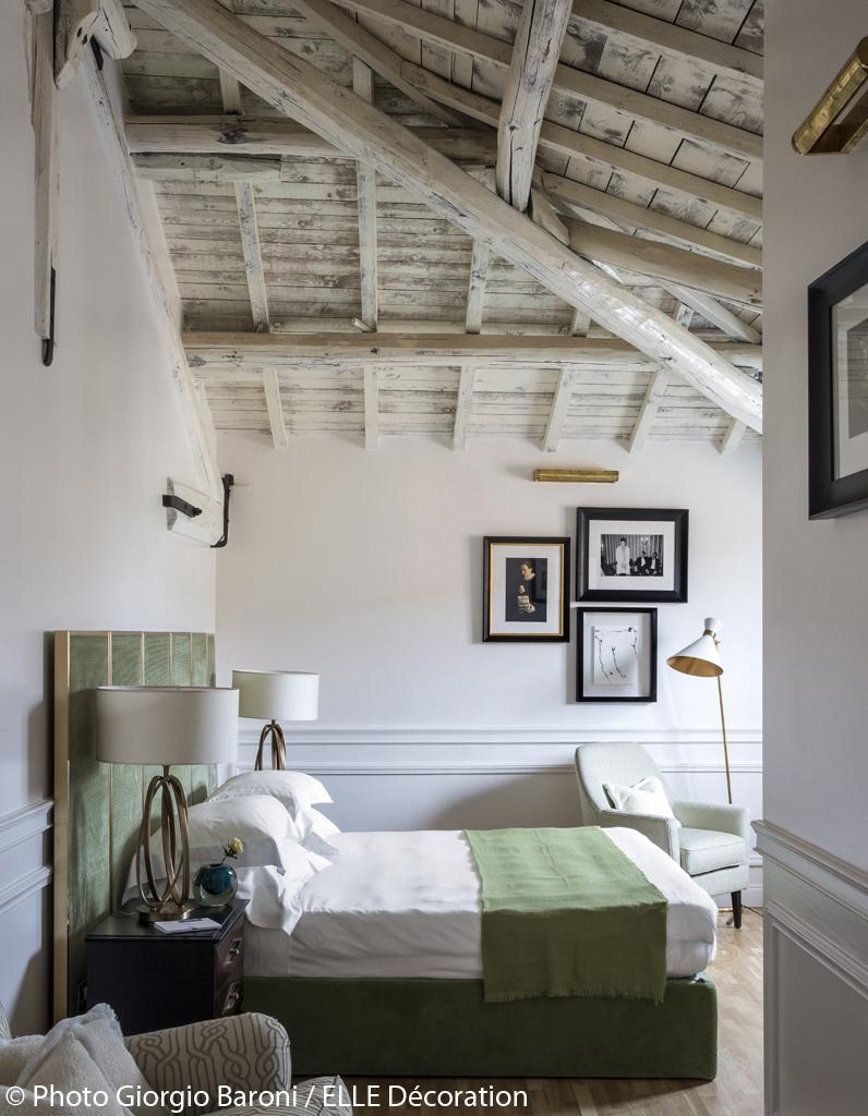 le palazzo dama h tel design rome l 39 h tel le plus chic de rome en 2016 elle d coration. Black Bedroom Furniture Sets. Home Design Ideas