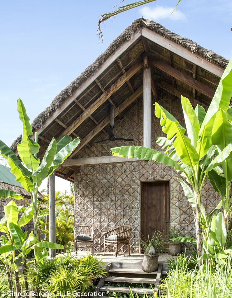 des cabanes de luxe un h tel au cambodge entre luxe et. Black Bedroom Furniture Sets. Home Design Ideas