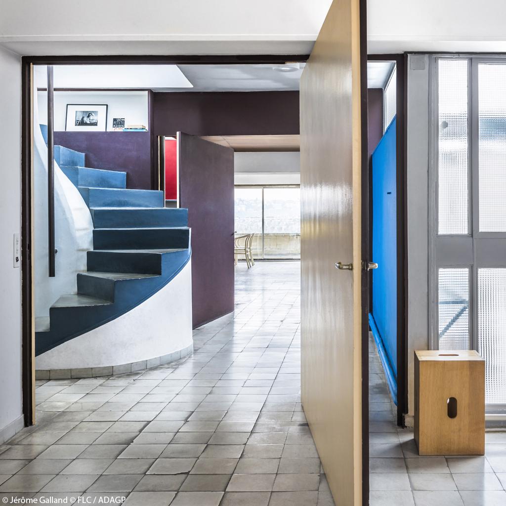 Visite tr s priv e de l 39 appartement atelier parisien de le corbusier el - Appartement le corbusier ...