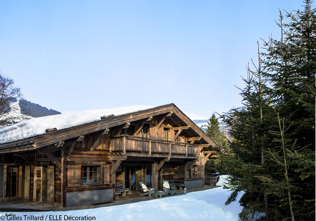 Un chalet typique mais ultra design elle d coration for Maison design et tradition