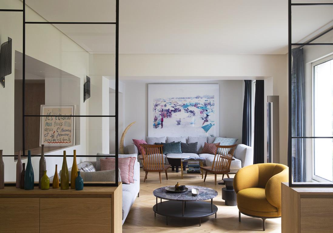 L 39 tonnante r novation d 39 une maison parisienne du 19 me si cle elle d coration - Renovation d une maison ...