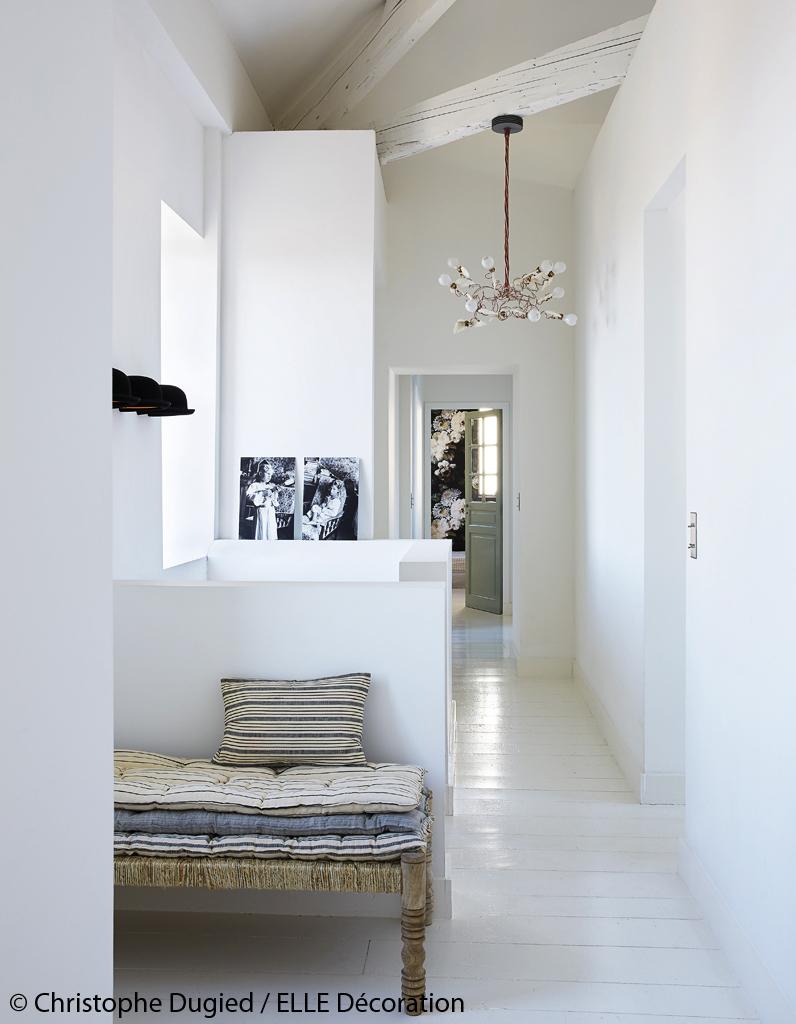 Fabuleux Maison de vacances décoration blanche : une maison de vacances en  QM58