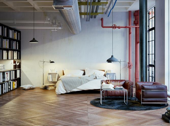 Deco chambre ado style loft for Chambre loft ado