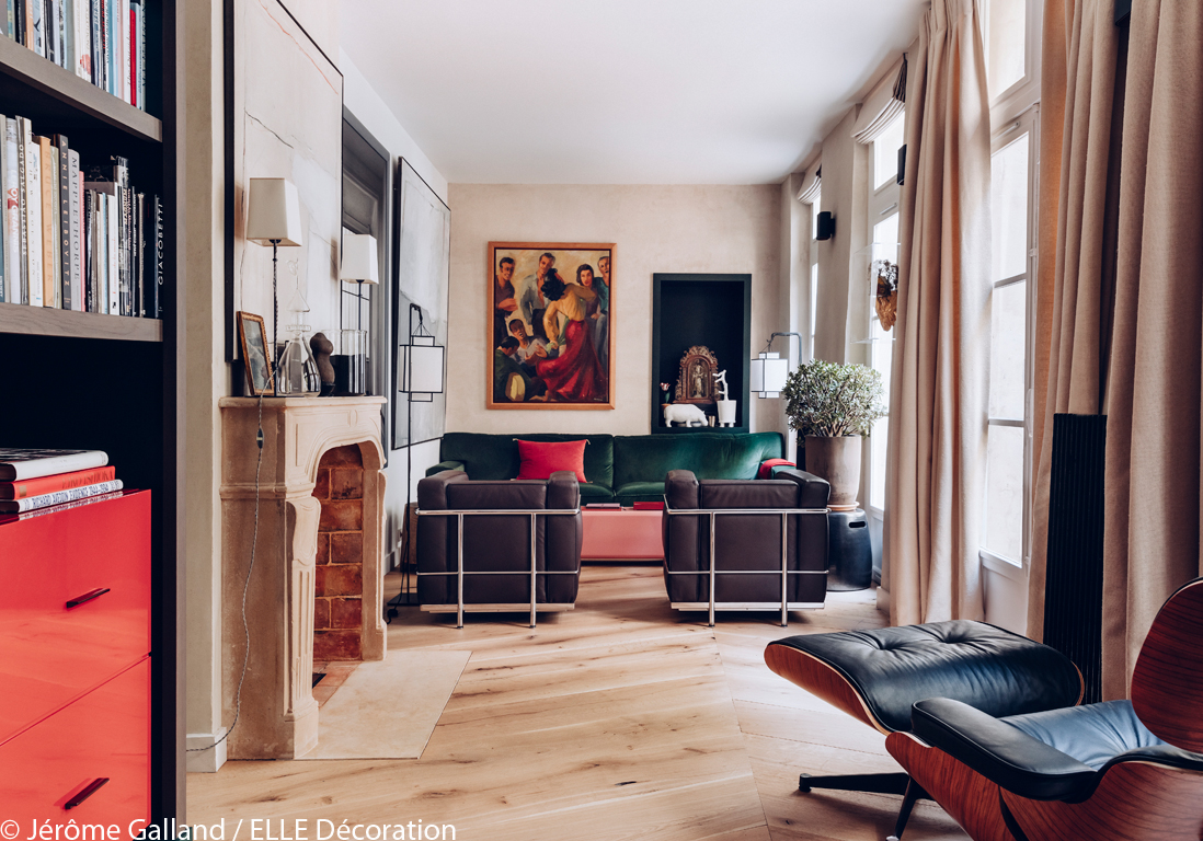 un ancien garage transform en maison cosy elle d coration. Black Bedroom Furniture Sets. Home Design Ideas