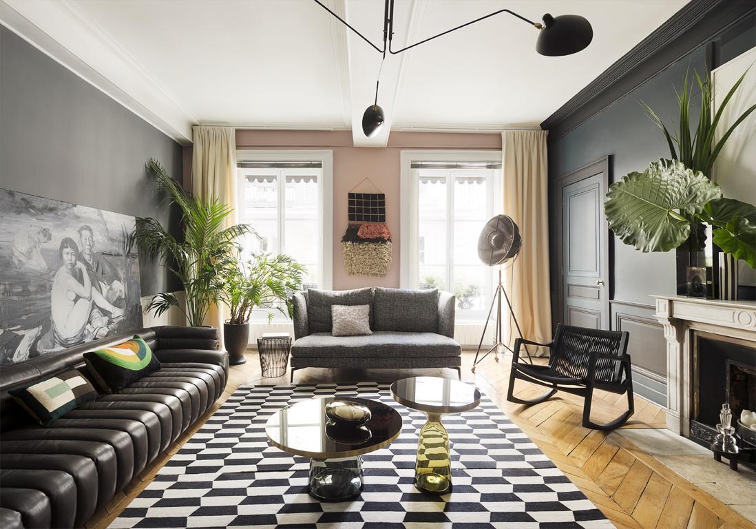 Un appartement somptueux comme une galerie elle d coration for Appartement de reve