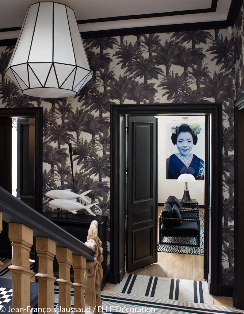 une splendide maison tr s exotique elle d coration. Black Bedroom Furniture Sets. Home Design Ideas