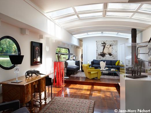 visite d une p niche comme une maison elle d coration. Black Bedroom Furniture Sets. Home Design Ideas