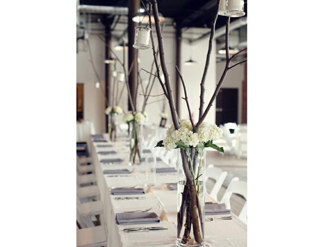15 id es d co pour un joli centre de table de mariage - Centre de table pas cher ...