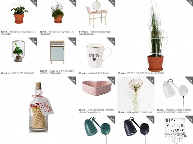 l 39 inspiration du jour les listes de mariage chez fleux elle d coration. Black Bedroom Furniture Sets. Home Design Ideas