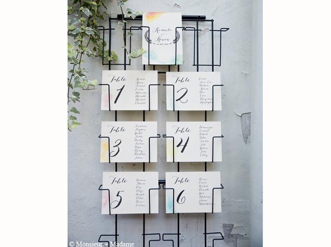 mariage je veux un plan de table original elle. Black Bedroom Furniture Sets. Home Design Ideas