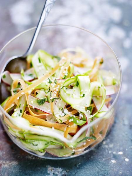 Recette minceur rapide coleslaw de l gumes printaniers - Cuisine minceur rapide ...