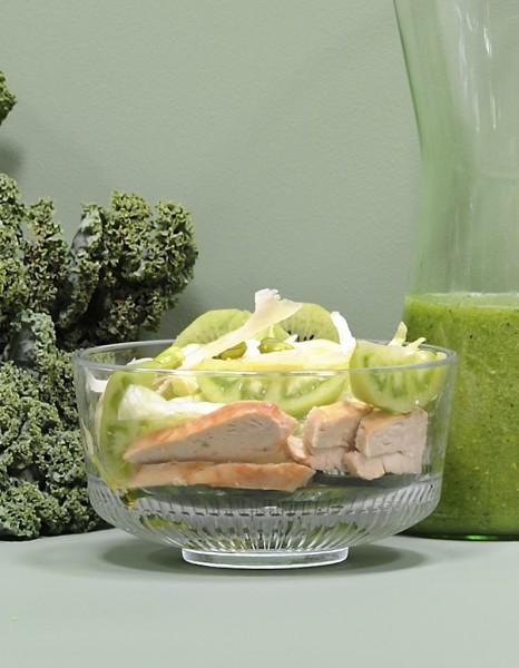 Recette minceur rapide salade verte au poulet nos - Cuisine minceur rapide ...