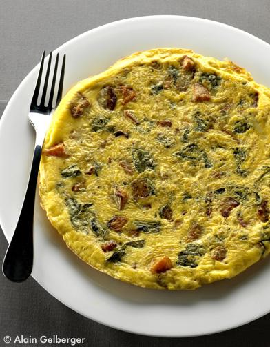 Omelette au potiron l oseille pour 4 personnes recettes elle table - Planter de l oseille ...