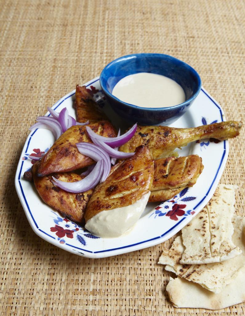 Poulet grill sauce tahini pour 6 personnes recettes elle table - Cuisine venitienne recettes ...