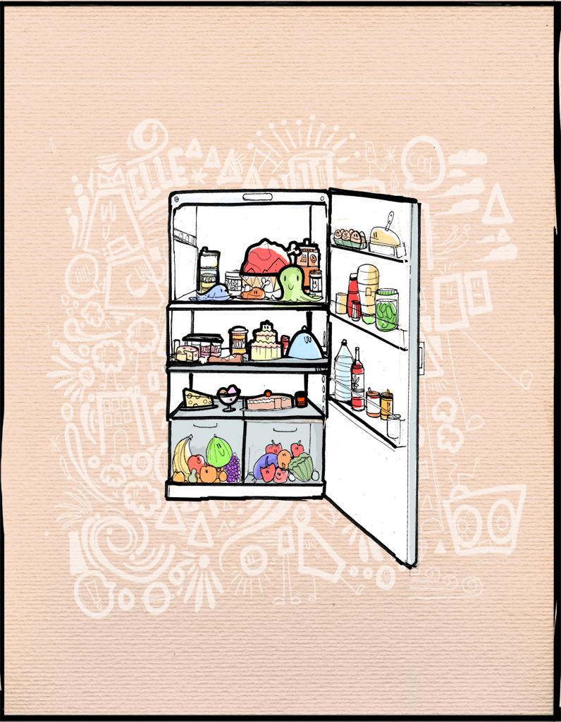 Que faire a manger avec rien dans le frigo - Mon frigo fait de l eau ...