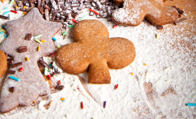 Biscuits de no l aux amandes recettes elle table - Biscuits de noel facile ...