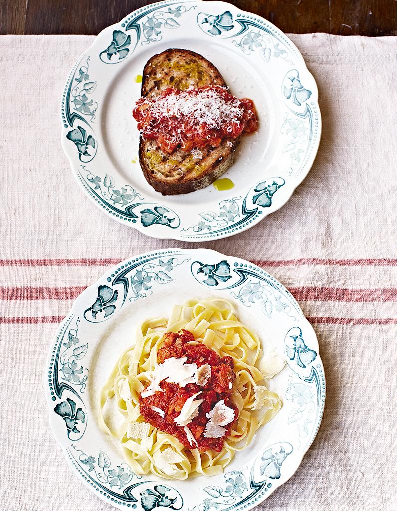 Bolognaise de porc mitonn e 5 recettes fut es et pas for Entrees faciles et pas cheres