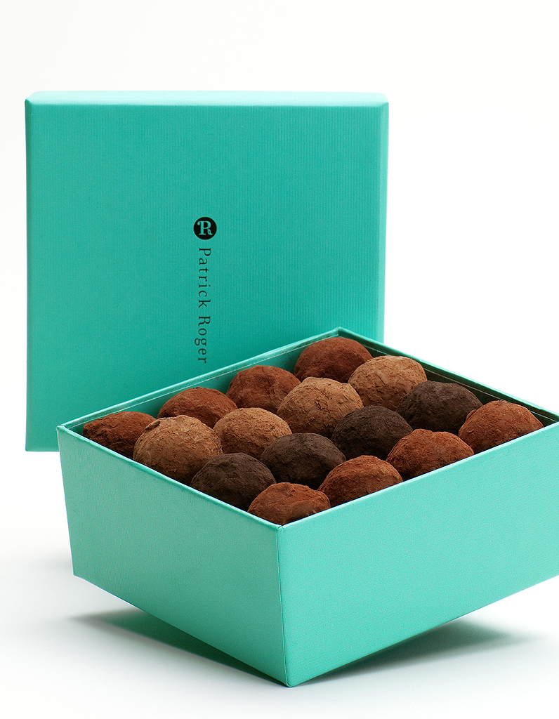 truffes boite patrick roger 50 cr ations chocolat. Black Bedroom Furniture Sets. Home Design Ideas