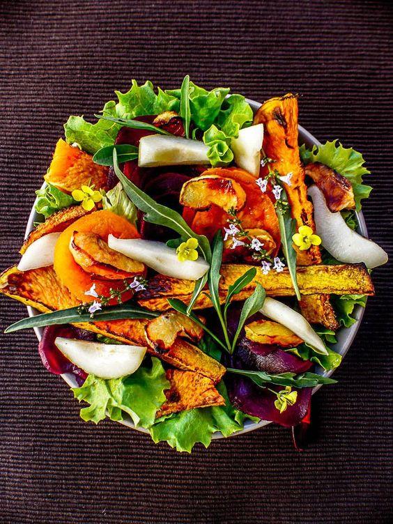 Salade d automne aux noix ces salades d automne manger for Eliminer les vers des salades