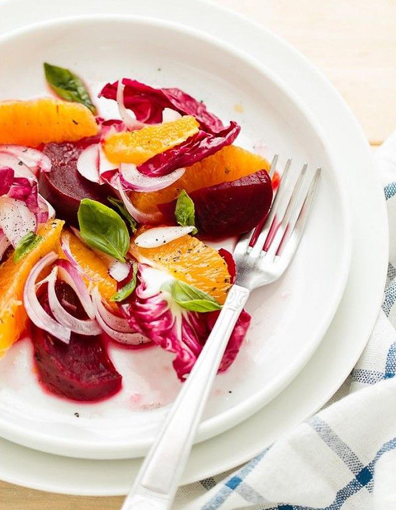 Salade d hiver di t tique l orange des salades d hiver - Variete de salade d hiver ...