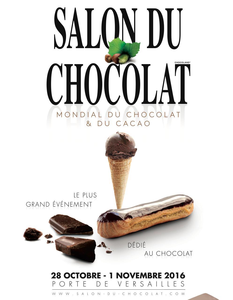 On se voit au salon du chocolat elle table for Salon du chocolat luneville