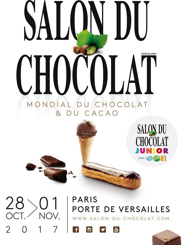 D couvrez les temps forts du salon du chocolat 2017 elle for Salon du chocolat luneville