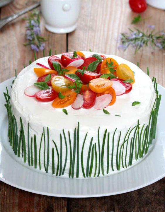 Gateau Sandwich Cake