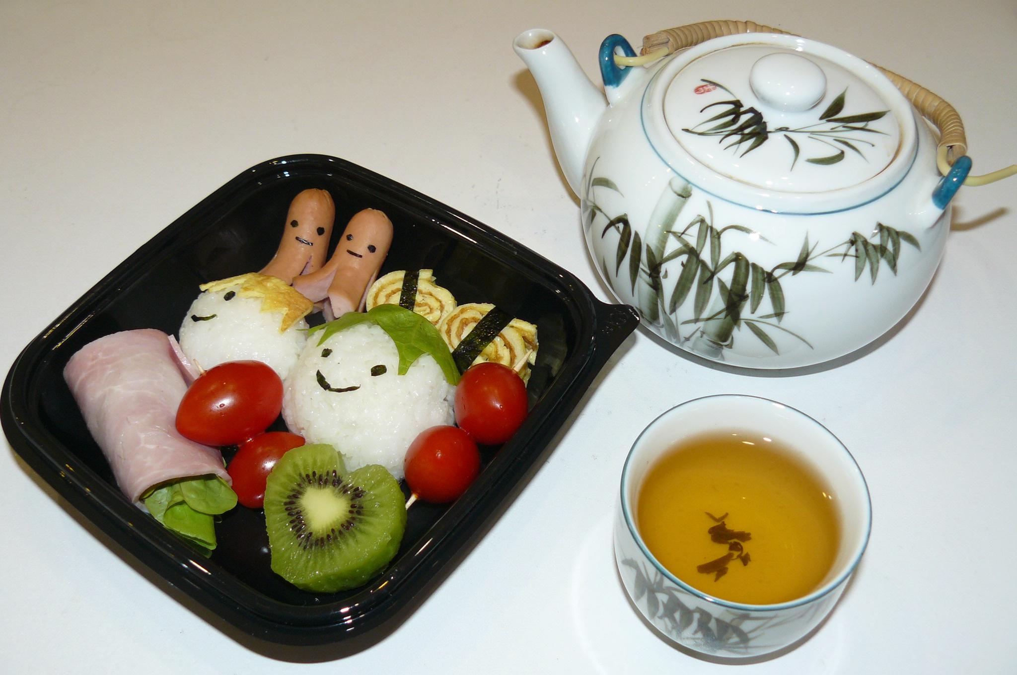 bento japonais pour 1 personne recettes elle table. Black Bedroom Furniture Sets. Home Design Ideas