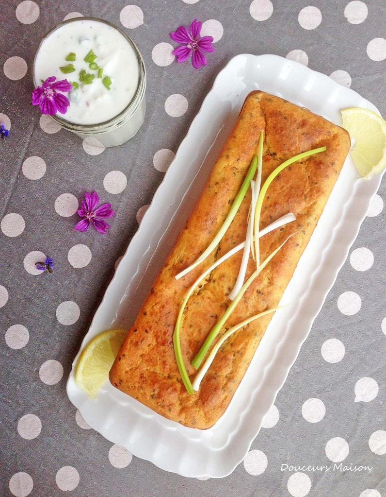 Cake Au Saumon Fum 233 Et Yaourt Pour 6 Personnes Recettes
