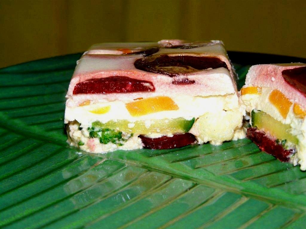 Terrine de fromage frais aux l gumes pour 2 personnes recettes elle table - Terrine de legumes facile et rapide ...