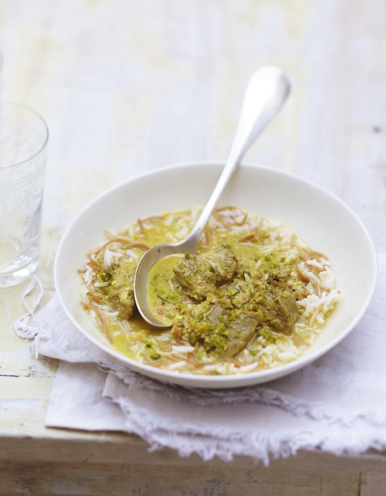 Agneau au lait de coco riz aux vermicelles grill s pour 6 personnes recettes elle table - Lait de coco bjorg ...