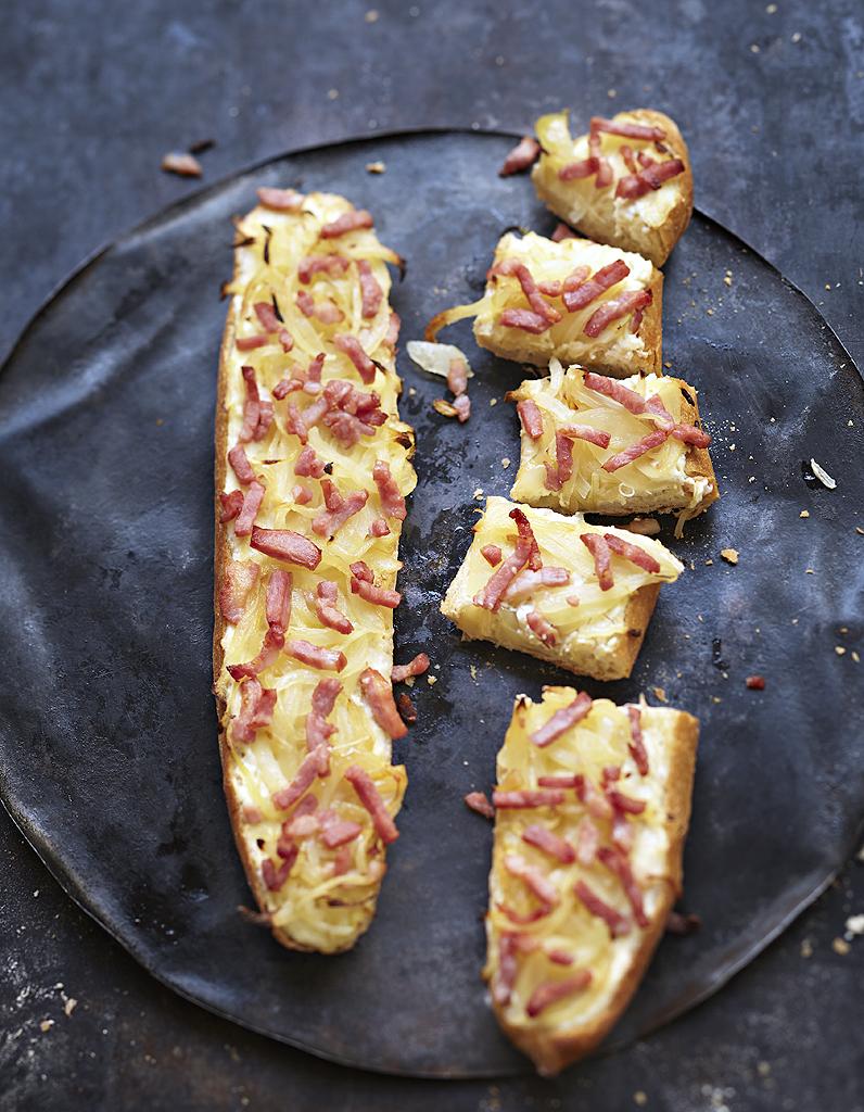 Baguettes flamb es pour 2 personnes recettes elle table for Plat simple et convivial