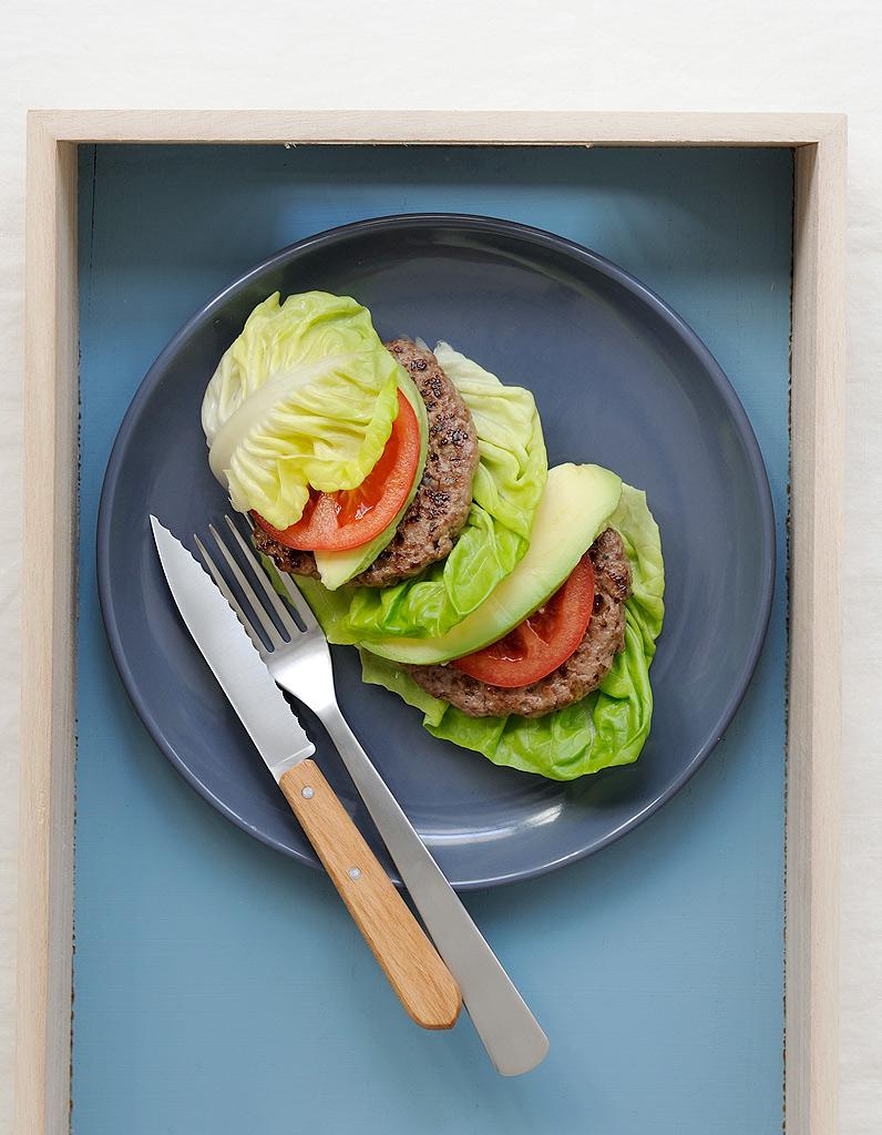 Fabuleux Burger sans pain pour 3 personnes - Recettes Elle à Table KM44