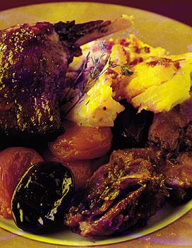 Civet de cuisses de canard aux pruneaux pour 4 personnes recettes elle table - Sites de recettes de cuisine ...