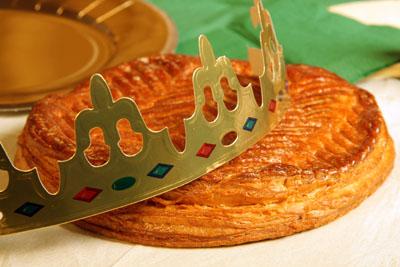Galette des rois aux p pites de chocolat pour 6 personnes recettes elle table - Galette des rois herve cuisine ...